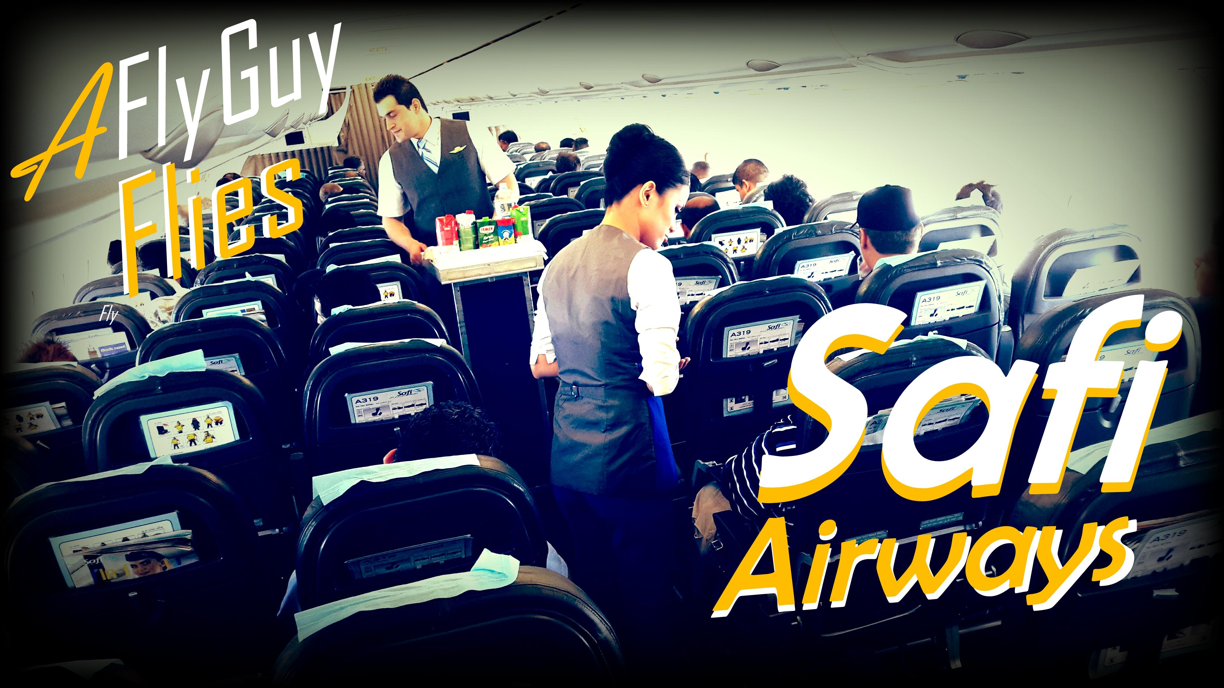 Safi Airways' website