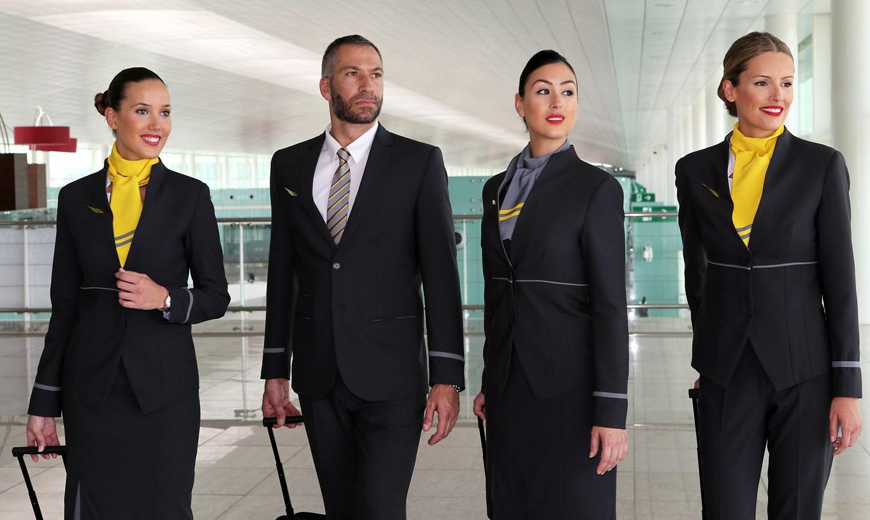New Look: Vueling Crew Design Eye Catching New Uniforms