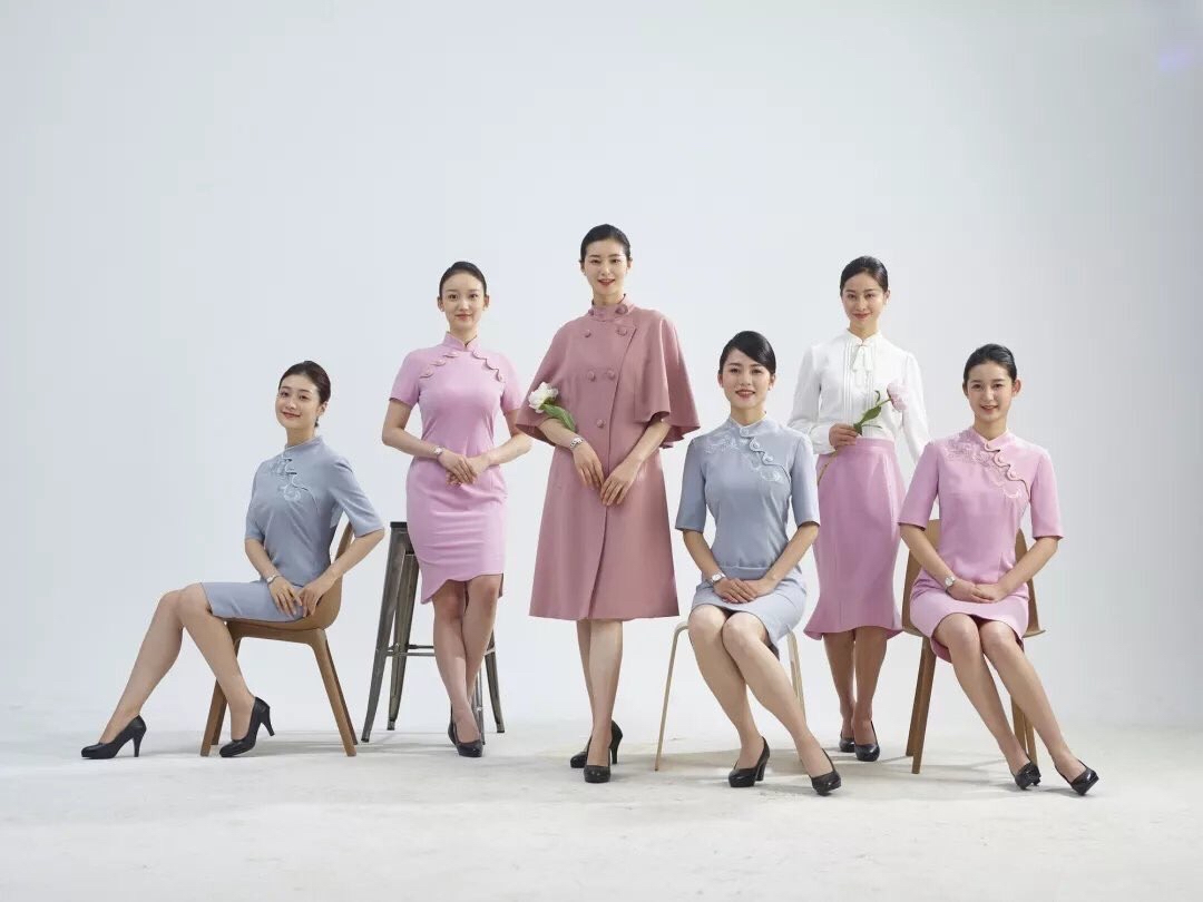 Juneyao Air new uniform